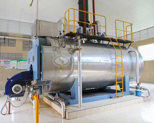 EPCB Horizontal Type Fire Tube Diesel Oil Gas Fired Steam